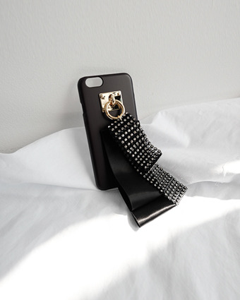 *cubic ribbon case  [black,아이폰6+/6S+]