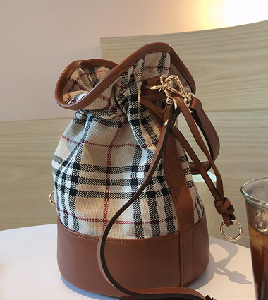 joy check string bag(3colors!)