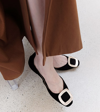 rachel flat shoes(5colors!)